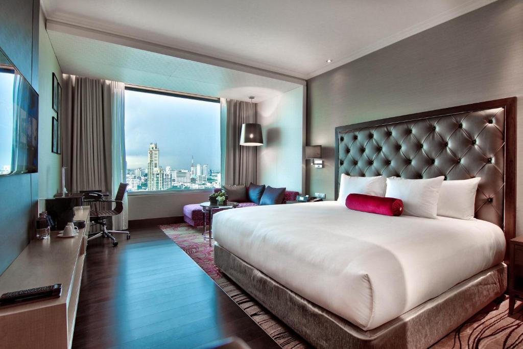 اتاق خواب هتل رادیسون بلو پلازای بانکوک