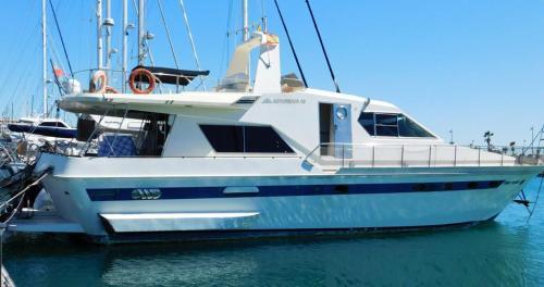 60ft Motor Yacht in Gibraltar