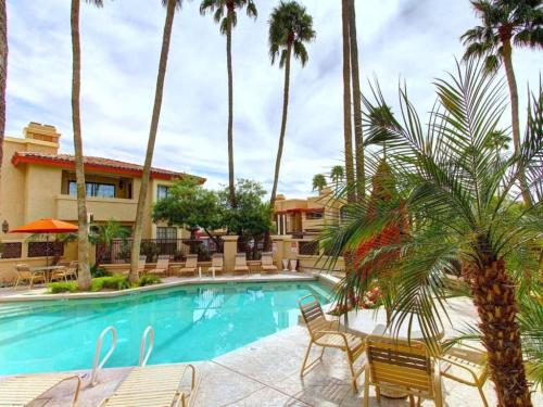 Mountains, Palms & Pools at Private Resort