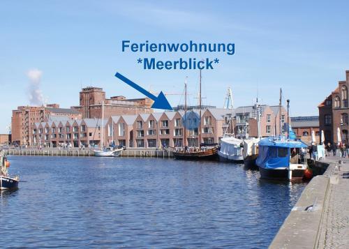 Exklusiv-Ferienwohnung Meerblick am Wismarer Hafen