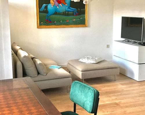 2 bedroom appartment centrum/Wijck fresh and new