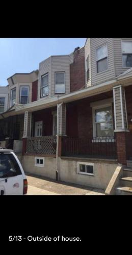 Private two bedroom row home