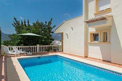 Holiday home in Jalon/Costa Blanca 4898