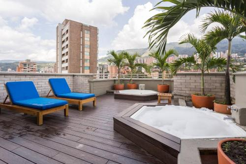 Luxury Apartment Poblado Alejandria Hotel #1403