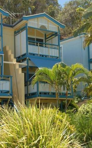 Beach front Villa at Tangalooma