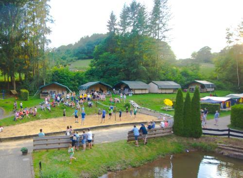 Safari tent at Vakantiepark Walsdorf