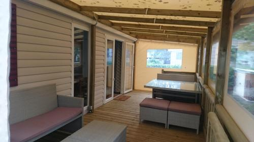 Campground Mobile Home Dans Domaine De Kerlann Pont Aven