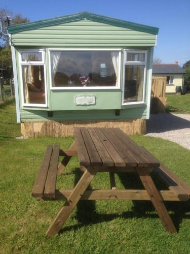 Luxury Mobile Home near Perranporth situated on a quiet farm