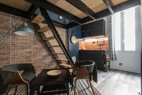 Mezzanine Studio near Monaco