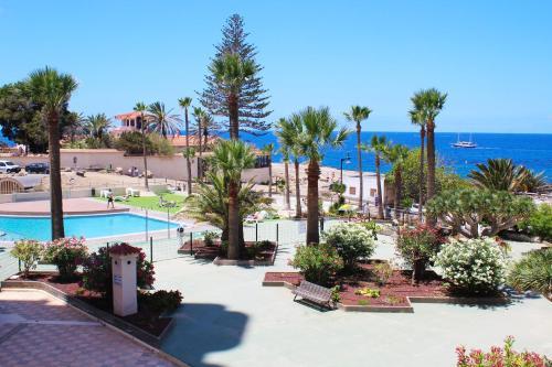 Soleado apartamento vistas al mar Los Cristianos