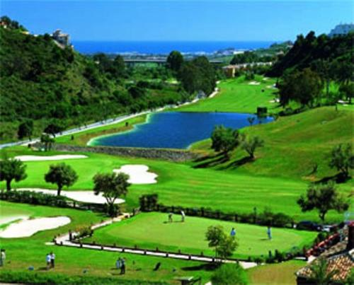 Fabulous apartment overlooking the golf course