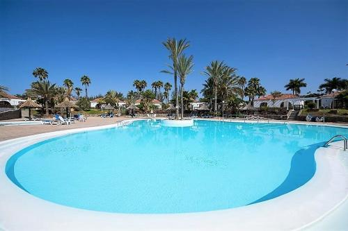 Description for a11y. Bungalow THE EIGHT. Campo Internacional, Maspalomas