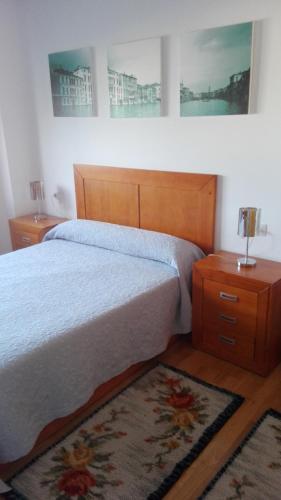 Description for a11y. Apartamento As Laxes de Illa de Arousa