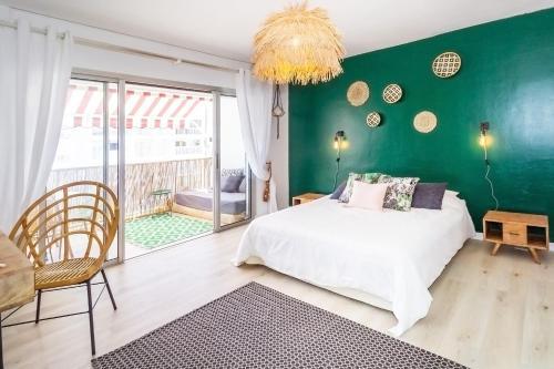 Palm Tree - magnifique studio au cœur du carré d'or à Saint-Denis