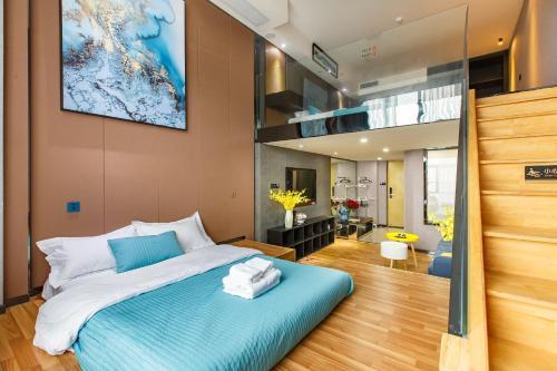 Lavendar Duplex Apartment