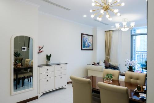 Vinhomes luxury serviced apartment
