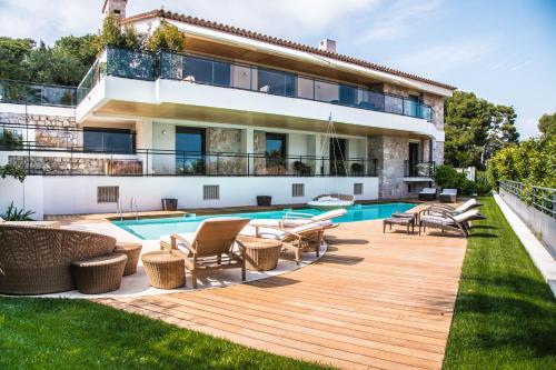 Sea view villa Cap Ferrat
