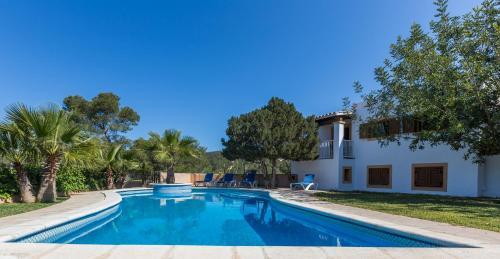 Cala Vadella Villa Sleeps 10 Pool Air Con WiFi