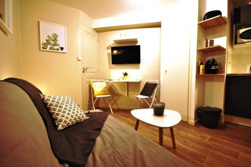 Studio cosy en hypercentre, quartier St Etienne
