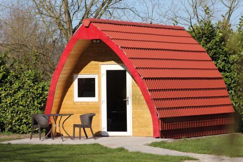Luxe Eco Pod op Camping de Stal