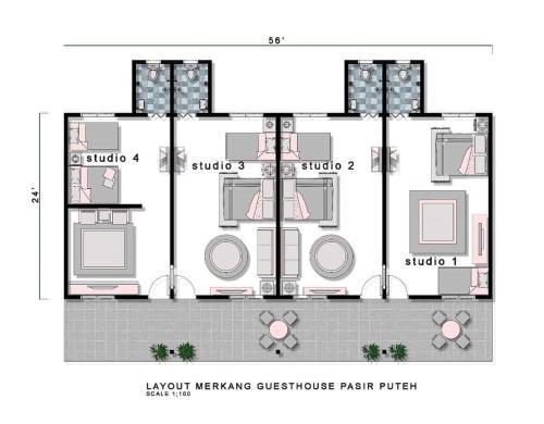 Merkang Guesthouse Pasir Puteh
