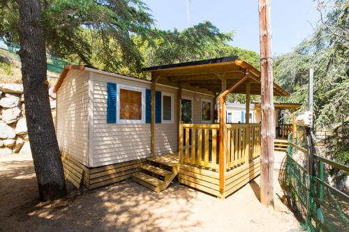Description for a11y. Camping Bungalows El Far