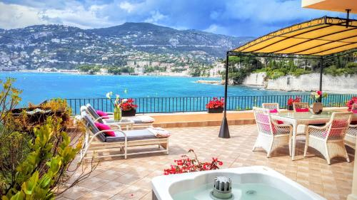 Apartment Cap Ferrat Luxury Terrace Sea Front, Saint-Jean ...