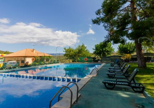 Description for a11y. Camping-Bungalows Altomira