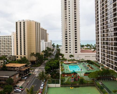 Waikiki Banyan Tower 2 Suite 1214