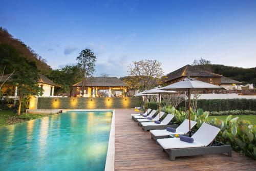サラブリー県のリゾート。タイ、...