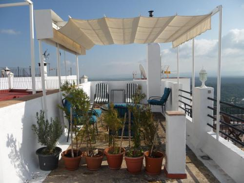 Description for a11y. Casa Sol. Vejer de la Frontera ...