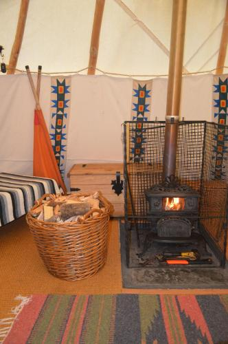 Larkhill Tipis and Yurts