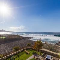 Ático con terraza y vistas al mar en San Andrés