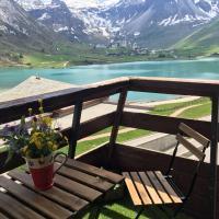 Grand studio vue sur lac