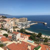 Duplex villa sur toit vue Monaco