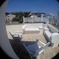 casa con terrazzo in stile mediterraneo