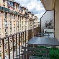 Le Brassens, 3 chambres et balcon