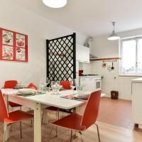 Red & White Vatican Apartment