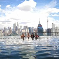 Sky society - A luxury hostel with rooftop infinity pool and sky scraper views