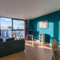 Modern 2 bed apartment, next the Hydro and SECC!