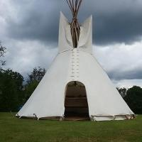 White Dog Tipi