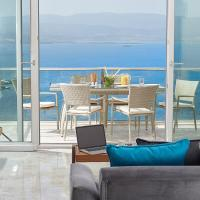 Villa on the coast of the Aegean Sea
