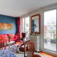 Cosy flat with balcony - Porte de Saint-Cloud