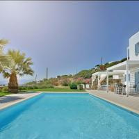 Beautiful Eden villa with pool and fantastic view