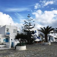 Local living at Mykonos windmills