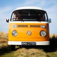Orange Nina VW Camper Van