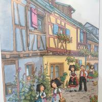 notre maison à Eguisheim