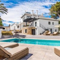 Modern and beautiful villa near beach.