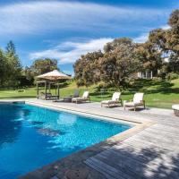 The Portsea Retreat - pool, tennis court