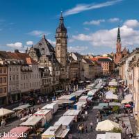 Marktblick - Ferienwohnungen LAUM Altenburg